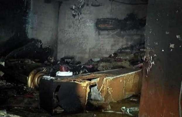 کراچی میں افسوس ناک واقعہ، خاتون نے اپنے ہی گھر کو آگ لگا دی