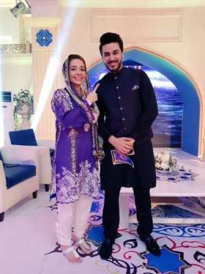 احسن خان اور جگن کاظم نے پی ٹی وی سے رمضان ٹرانسمیشن کا آغاز کر دیا