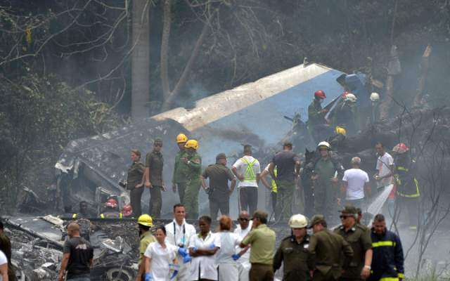 کیوبا طیارہ حادثے میں 110افراد ہلاک، تین زندہ بچ گئے، بلیک باکس مل گیا