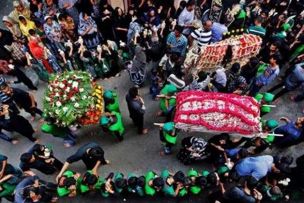 ملک بھر میں 9 محرم الحرام انتہائی عقیدت واحترام کے ساتھ منایا جا رہا ..