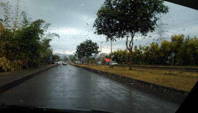 اسلام آباد سمیت بالائی پنجاب ، خیبر پختونخوا، گلگت بلتستان اور کشمیر ..
