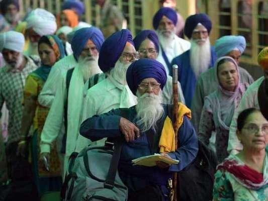 بھارتی سکھ یاتریوں کی واپسی،