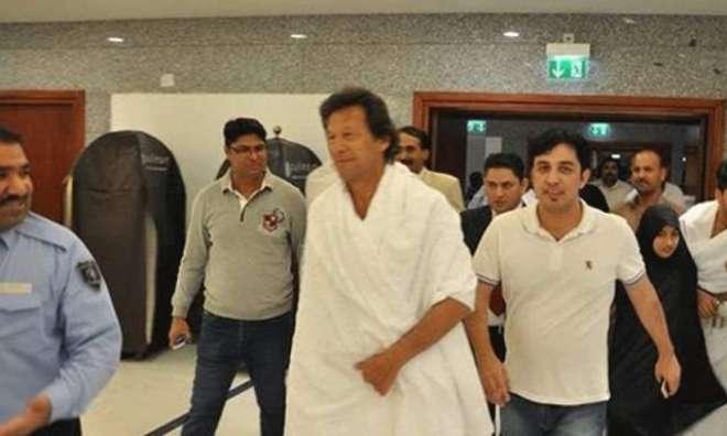 عمران خان اور اہلیہ کی روضہ رسول پر حاضری، کل عمرہ ادا کریں گے