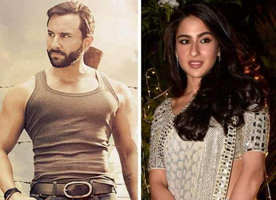 ہدایتکار نیتن ککڑ کے سیف علی خان اور سارا علی خان سے نئی فلم کے لئے رابطے