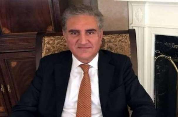 وزیر خارجہ شاہ محمود قریشی سے متحدہ عرب امارات کے ہم منصب شیخ عبداللہ ..