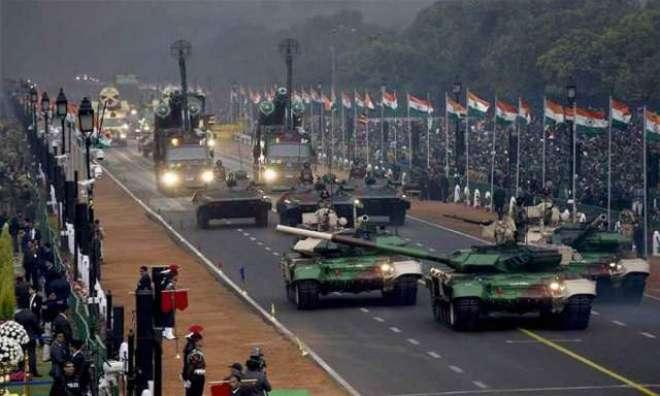 بھارت زیادہ دفاعی اخراجات کرنے والا5 واں بڑا ملک بن گیا