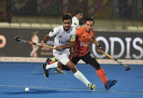 ہاکی ورلڈ کپ ،ْاہم ترین میچ میں پاکستان اور ملائیشیا کا مقابلہ 1-1 سے ..
