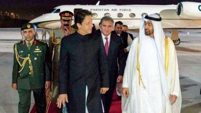 وزیراعظم عمران خان کا اماراتی ولی عہد شیخ محمد بن زید سے رابطہ