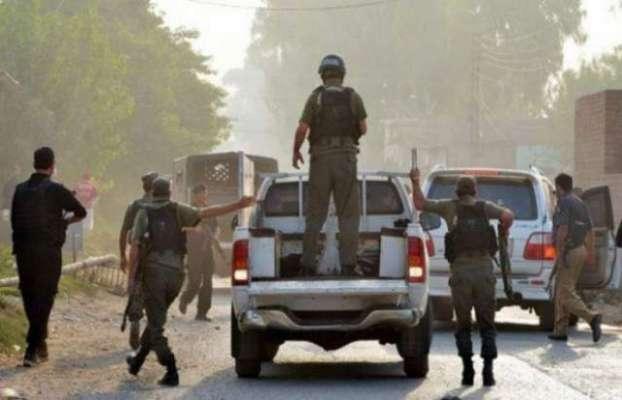 سرگودھا'آپریشن رد الفساد میں سرچ آپریشن'