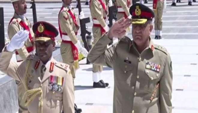 آرمی چیف سے سری لنکن فوج کے کمانڈر کی ملاقات ،ْ