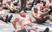 تھائی لینڈ میں موٹے پولیس افسران کو وزن کم کرنے کے کیمپ میں بھیجا جا ..