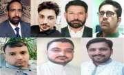 اوورسیز کشمیریوں کا وزیرحکومت فاروق طاہر کے خلاف شدید احتجاج