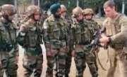 امریکا اور بھارت کی افواج نے مشترکہ مشقیں شروع کر دیں