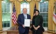 امریکا میں سعودی عرب کی پہلی خاتون سفیر شہزادی ریما بنت بندر نے امریکی ..