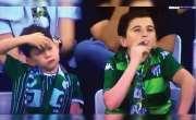 ترکش فٹبال میچ کے دوران سگریٹ پیتا 'بچہ' 36 سالہ شخص نکلا