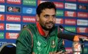 بنگلہ دیش کا دورہ سری لنکا کیلئے ٹیم کا اعلان، مشرفی مرتضیٰ کپتان برقرار ..