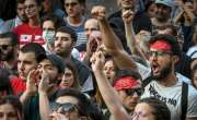 جارجیا،پرتشدد مظاہرے کے بعد پارلیمانی اسپیکر سے جبری استعفیٰ لے لیا ..