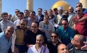 سعودی فٹ بال ٹیم نے قبلہ اول میں نماز کی سعادت حاصل کر لی