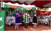 جام پور میں یوم آزادی و یکجہتی کشمیر کے سلسلہ میں میونسپل کمیٹی کے لان ..