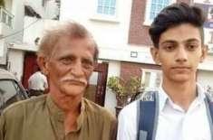 کراچی کے اخبار فروش بیٹے کی انٹر کے امتحانات میں پورے شہر میں پہلی پوزیشن