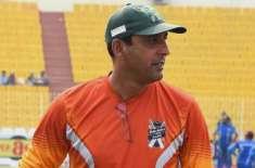 بلوچستان کرکٹ ٹیم کے کوچ ارشد خان کوایک میچ کے لیے معطل کردیا گیا