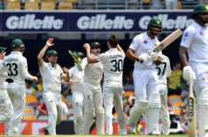 Brisbane Test, national team returned to Pavilion by 240 runs