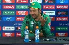 the way haris sohail batted in the last 15 overs, it was like Jos Buttler: sarfraz ahmed