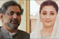 مریم نواز اور شاہد خاقان عباسی کی احتساب عدالت پیشی کے موقع پر سیکورٹی ..