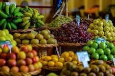 پھلوں کی برآمدات میں گذشتہ ماہ 13.98 فیصد کمی ہوئی، شماریات بیورو