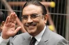 احتساب عدالت کو8 ارب روپے کی مشکوک ٹرانزیکشنز کیس میں آصف زرداری پر ..