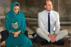 شاہی جوڑے کو بادشاہی مسجد میں قرآن مجید کی تلاوت سنائی گئی