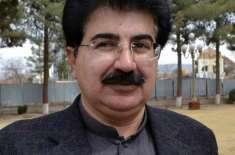 چیئرمین سینیٹ صادق سنجرانی کی وفد کے ہمراہ سپیکر بلوچستان اسمبلی کے ..