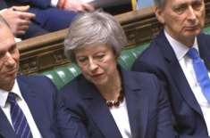 بریگزٹ ڈیل پر برطانوی پارلیمان میں نئی رائے شماری جون کے شروع میں ہوگی