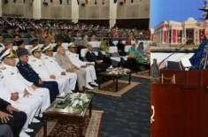 پاکستان نیوی ملکی سمندری حدود کی حفاظت کے لیئے ہر دم تیار ہے۔ نیول چیف ..