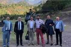 غیر ملکی سفیروں اور میڈیا نمائندگان کا لائن آف کنٹرول کا دورہ، بھارتی ..
