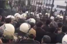 تشدد کرنیوالے وکیل نہیں، کسی پارٹی کے رکن ہیں، صدر لاہور ہائیکورٹ بار