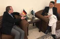 جرمنی کی نئے پاکستان کے معاشی ایجنڈے میں تعاون کی آفر