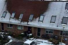 Snow-Free Roofs Help Dutch Police Catch Cannabis Growers