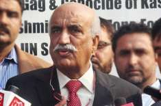 سید خورشید شاہ کا وفاقی وزیر علی محمد خان مہر کے انتقال پر دلی دکھ کا ..