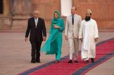 برطانوی شاہی جوڑے کی پاکستان خصوصاً بادشاہی مسجد آمد سے بین المذاہب ..