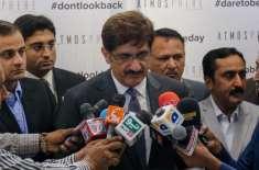 وزیر اعلیٰ سندھ  کا کراچی میں جاں بحق پولیس اہلکارکے اہل خانہ کے لیے ..