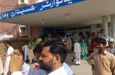 وہاڑی:ڈپٹی کمشنر عرفان علی کاٹھیا کا ڈی ایچ کیو ہسپتال وہاڑی کادورہ