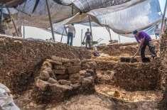 ماہرین آثار قدیمہ نے  یروشلم کے قریب  9000 سال قدیم شہر دریافت کر لیا