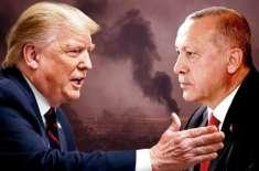 '' بیوقوف نہ بنیں'' ٹرمپ کا شام میں حملوں پر اردگان کو خط