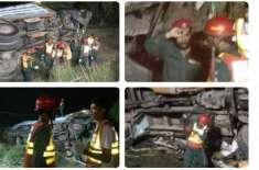 عارفوالا: بورے والا روڈ پر اڈہ کوارٹر کے قریب ٹریفک حادثہ، تین افراد ..