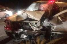 جدہ:ٹریفک حادثے میں دُلہن اور دُلہا جاں بحق