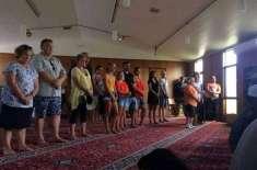 سانحہ نیوزی لینڈ کے بعد غیر مسلموں کی بڑی تعداد کا مساجد کی طرف رجوع