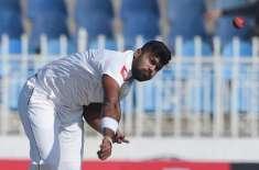 راولپنڈی ٹیسٹ،سری لنکن فاسٹ باﺅلر لاہیرو کمارا زخمی ہونے سے بال بال ..