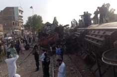 ریلوے حادثے میں کسی مسافر کونقصان نہیں پہنچا، شیخ رشید