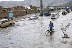 افغانستان میں سیلاب سے 63افرادہلاک،ایک لاکھ 22 ہزار شہری متاثر